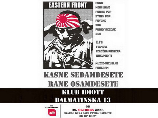EASTERN FRONT, program 22-31. mart 2010.