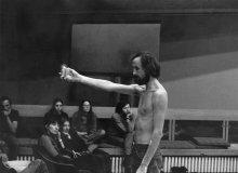 Raša Todosijević, performans, 1973, SKC Beograd