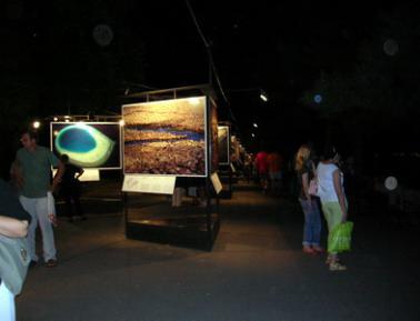 Zemlja vidjena ocima neba, Jan Artis-Bertran, do 1.9.07. na Kalemegdanu