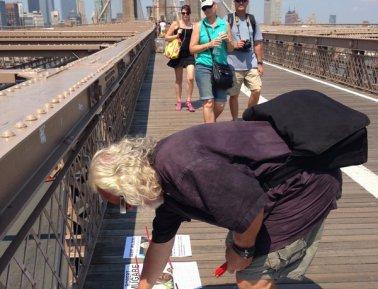 People I Don't Like, Brooklyn Bridge, NYC