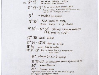 Idealan raspored