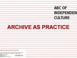 Arhivi video umetnosti u praksi