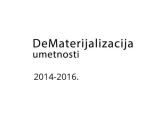DeMaterijalizacija kao publikacija