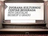 Digitalizovan bioskop KCB-a
