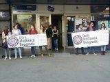 Protest zbog promocije Krajišnika u DOB-u