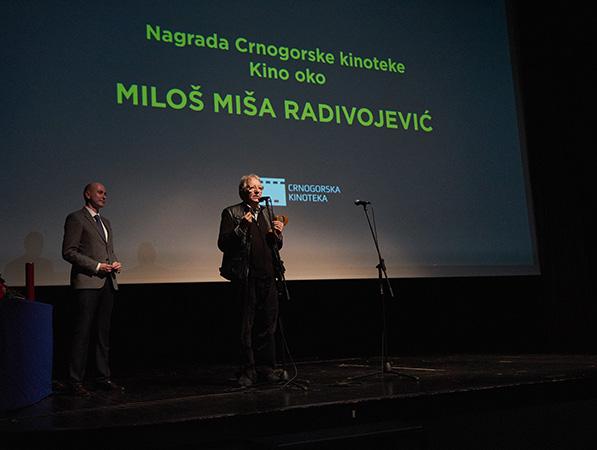 Radivojeviću nagrada Crnogorske kinoteke